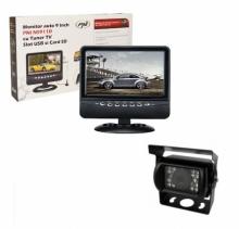 Промоционален комплект Комплект монитор 9 инча PNI NS911D + водоустойчива камера за паркиране