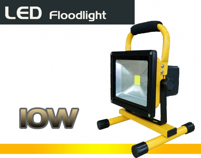 LED Прожектор 10w с регулируема светлина IP65 High Power 600LM