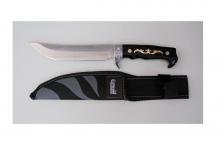 Ловен нож от неръждаема стомана + калъф