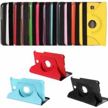 Кожен калъф за Samsung Galaxy Tab 3 - 7 инча, 360 градуса P3200 P3210