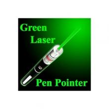 Зелен лазер 100mW с дискотечна приставка