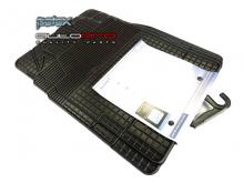Универсални гумени стелки Petex модел MEGAFIT 4 части черни