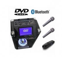 Караоке тонколона TV-10 BT - 7 инча дисплей, Bluetooth