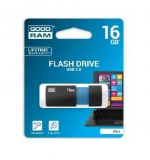 Флаш пламет GOODRAM 16GB USL2 BLACK USB 2.0