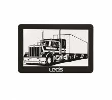 LEOS TRUCK MATE 5 инча - Двуядрена навигация за камиони , 256MB, 2 програми, Сенник