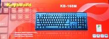 Клавиатура за компютър KB-168M USB