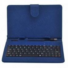 Калъф с клавиатура за таблет 8 инча - micro USB, 6 цвята