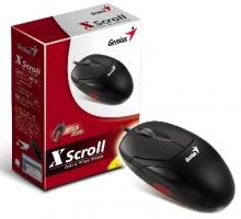 Мишка GENIUS Xscroll USB черна