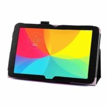 Кожен калъф за таблет LG G Pad 10.1 инча V700 - ПАПКА + ПИСАЛКА