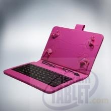 Калъф с клавиатура за таблети 7 инча - micro USB + БОНУСИ!