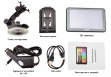 Двуядрена GPS навигация LEOS M6BT - 5 инча, 800MHZ, 256MB RAM, 8GB, Bluetooth