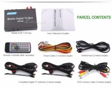 Универсален двоен дин ATMSTR02TV 6.2 инча DVD + навигация + цифрова телевизия + камера