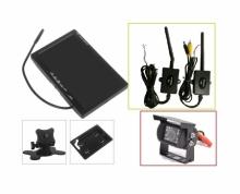 """Безжична система за паркиране 7"""" монитор + IR камера за камиони и кемпери AT C109M"""