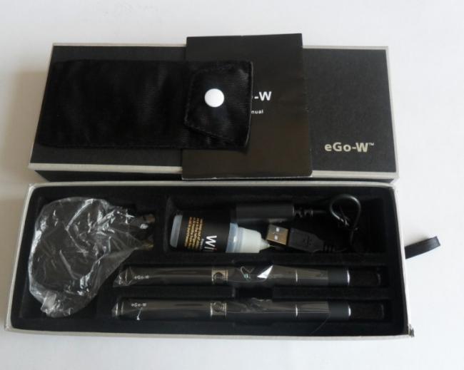 Електронна цигара eGo W, Модел 2012 - 2броя