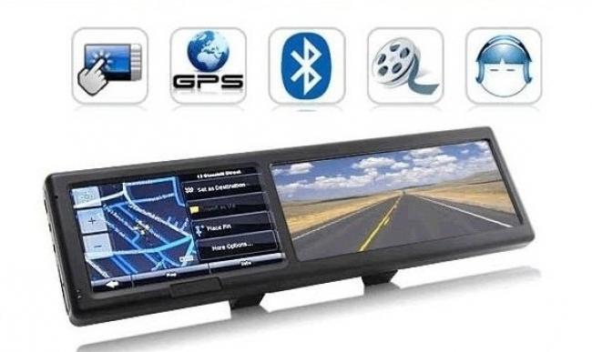 GPS навигация Fly StaR Q4 + ОГЛЕДАЛО
