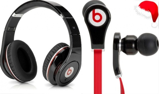 Слушалки Beats By Dr Dre STUDIO ( реплика ) + ПОДАРЪК малки слушалки