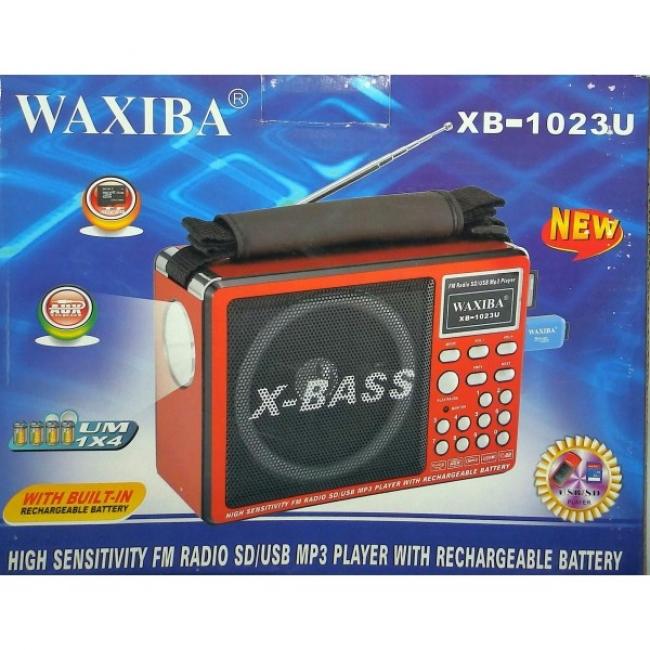 NEW! Преносимо FM Радио SD,TF & USB с фенер за къмпинг