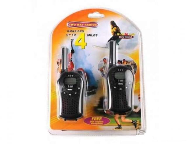 2 броя Walkie Talkie - радиостанции 400 - 470MHz модел T-668