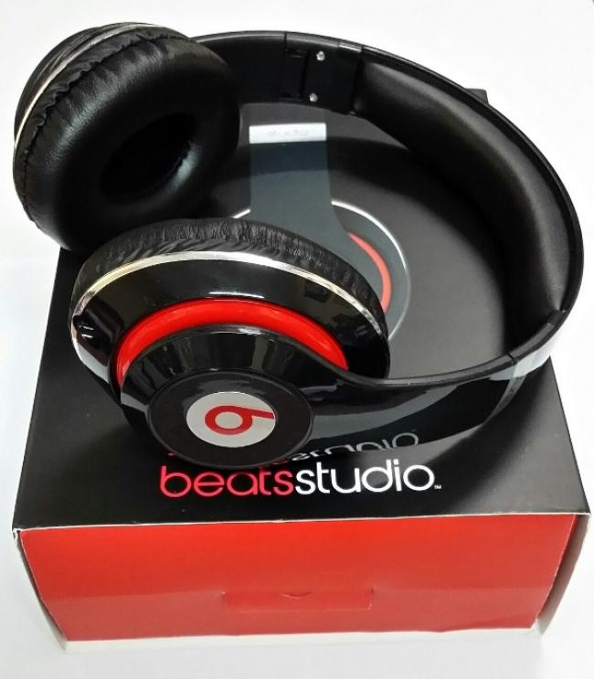 НОВ МОДЕЛ ! Аудио слушалки Beats by Dre STUDIO HD ( реплика ) - ЧЕРНИ