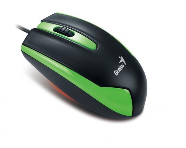 Мишка GENIUS DX-100 USB червена G5 1200dpi