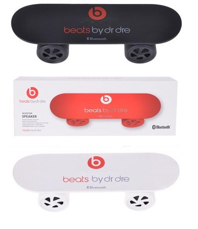 Bluetooth аудио колонка с MP3 плеър Beats By Dr Dre ( реплика ) Скейтборд - 3 цвята