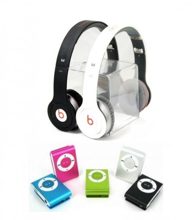 ПРОМОЦИЯ! Аудио слушалки Beats by Dre SOLO(Реплика) + ПОДАРЪК MP3 плеър