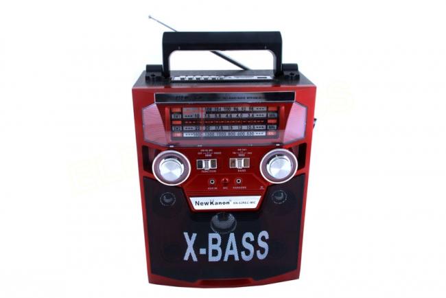 Тонколона Караоке с вградена батерия, MP3 плейър, SD карта, USB флашка и микрофон