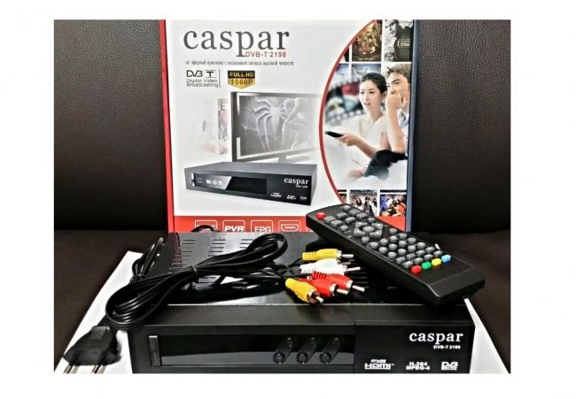 Приемник за цифрова ефирна телевизия Caspar DVB-T 2198