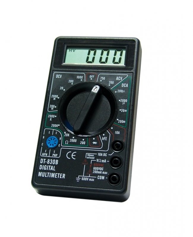 Цифров мултиметър - мултицет DT-830B