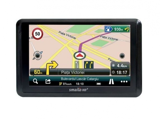 GPS навигация за камион Smailo HD x50 Travel Europa 5 инча, Bluetooth