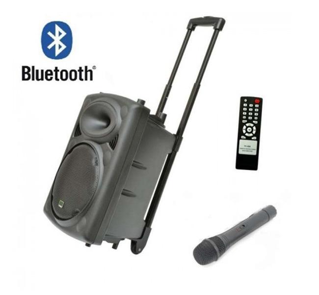 Караоке тонколона ELITE PS-10 - 10 инча, Bluetooth, Безжичен микрофон ПОДАРЪК