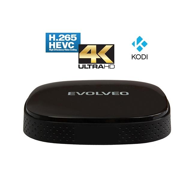 Мултимедийна TV кутия Evolveo Android BOX Q3 4K