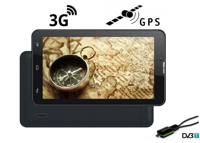 5в1 3G Таблет GPS навигация с Android Turbo-X Calltab 7 инча, SIM, 16GB, DVR, ТЕЛЕВИЗИЯ