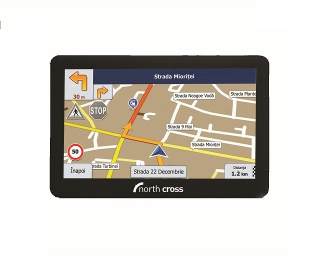 GPS навигация за камиони North Cross ES725FE TRUCK - 7 инча, 256MB RAM, 8GB