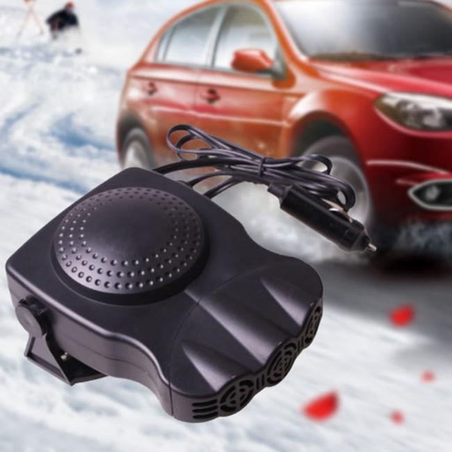Вентилаторна печка за автомобил 12V 150W (топъл и студен въздух)