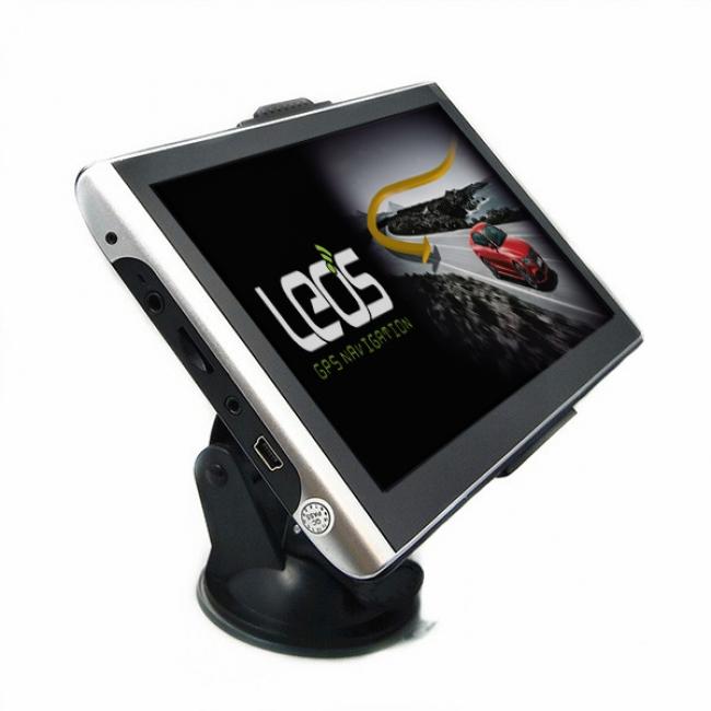 Двуядрена GPS навигация LEOS B701 7 инча, 800MHZ, 256RAM, 8GB
