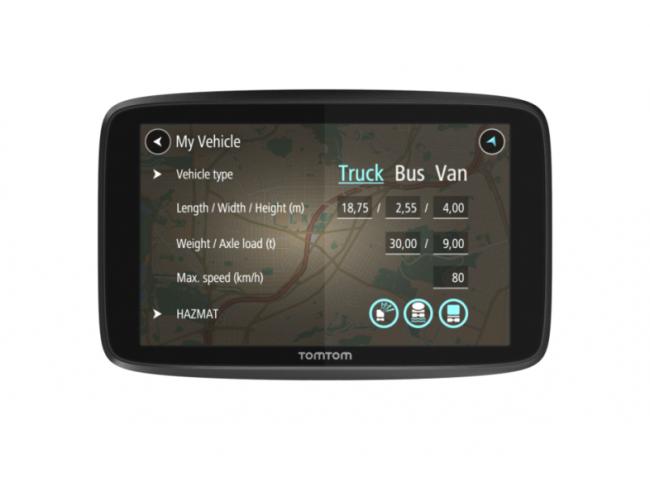 GPS навигация за камион TOMTOM GO PROFESSIONAL 6250 LM WIFI