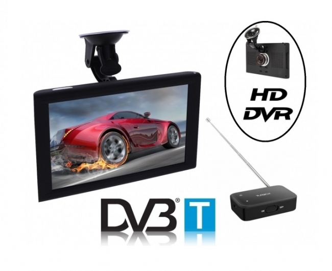 4в1 GPS навигация LEOS DRIVE XL 9 инча, Android, DVR, 8GB, WIFI, ТЕЛЕВИЗИЯ