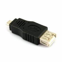 Преходник от Mini USB мъжко към USB 2.0 женско - Модел 1