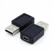 Конектор от USB 2.0 мъжко към mini USB женско