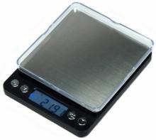 Дигитална бижутерска везна 500гр - 0.01 гр