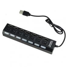USB Hub разклонител със 7 порта
