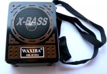 Преносимо 3 в 1 мини FM радио Waxiba XB-916 U