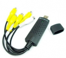 4 канален USB DVR адаптер EasyCap Capture