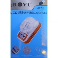Универсално зарядно устройство за Li Ion батерии с LCD екран
