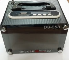Мини говорител/Mini Speaker SD card/USB DS-358