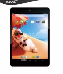 Таблет DIVA Android 7.85 HD 3G Quad Core - 7.85, 3G, GPS, 2 SIM, 1GB РАМ, 8GB