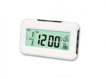 Часовник с голям светещ дисплей и температура