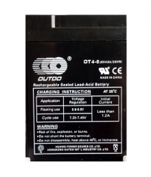 Акумулатор 6V 4Ah гелов (оловно-киселинен)