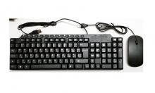 Комплект Клавиатура + мишка за компютър ST-KB03